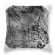 Petalesharro Medal, 1821 Throw Pillow