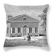 Philadelphia: Library Throw Pillow