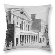 Philadelphia: Theater Throw Pillow by Granger