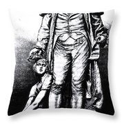 Philippe Pinel, French Physician Throw Pillow