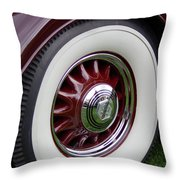 Pierce Arrow Wheel Throw Pillow
