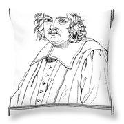 Pierre De Fermat, French Mathematician Throw Pillow