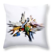 Pile Of Chestnuts Throw Pillow