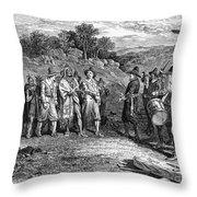 Pilgrims: Massasoit Throw Pillow
