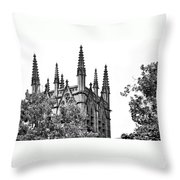 Pinnacles Of St. Mary's Cathedral - Sydney Throw Pillow
