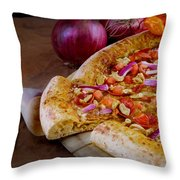 Pizza Throw Pillow
