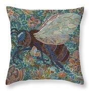 Pollenator Throw Pillow