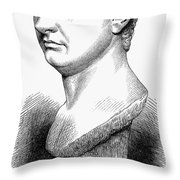 Pompey The Great Throw Pillow