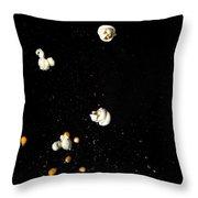 Popcorn Popping Throw Pillow