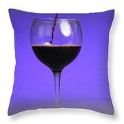 Pouring Wine Throw Pillow