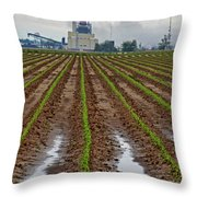 Power And Plants Throw Pillow