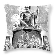 Prince Otto Von Bismarck Throw Pillow
