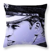 Prince William In 2011 Throw Pillow