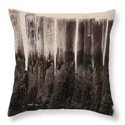Pylons Throw Pillow