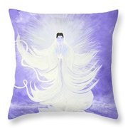 Quan Yin Throw Pillow
