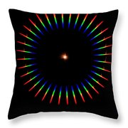 Quicklime Spectra Limelight Throw Pillow