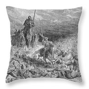 Rabelais: Gargantua Throw Pillow