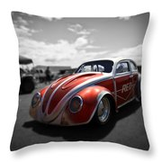 Race Ready Throw Pillow