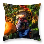 Raggedy Andy Throw Pillow