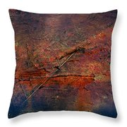 Raging Rapids Throw Pillow by Empty Wall