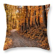Ramble On Throw Pillow