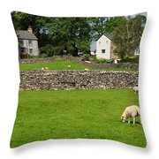 Ravenstonedale Cumbria Throw Pillow