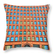Reflections And Shadows Throw Pillow