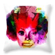 Relationship Of A Clown Throw Pillow