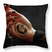 Remembering Grandma Throw Pillow