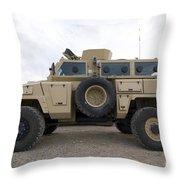 Rg-31 Nyala Armored Vehicle Throw Pillow