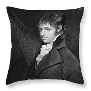 Richard Porson (1759-1808) Throw Pillow