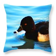 Ringbill Duck Throw Pillow