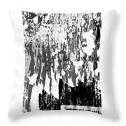 Ripped Off Throw Pillow