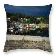 River Barrow, Graiguenamanagh, Co Throw Pillow