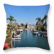 Rivo Alto Canal Throw Pillow