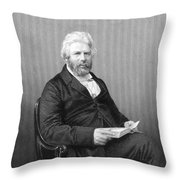 Robert Chambers (1802-1871) Throw Pillow