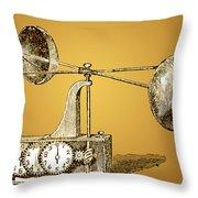 Robinsons Anemometer, 1846 Throw Pillow