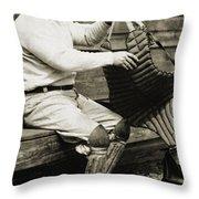 Roger Bresnahan (1879-1944) Throw Pillow