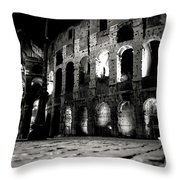 Roman Night Throw Pillow