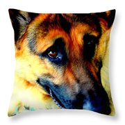 Rommel Three Throw Pillow