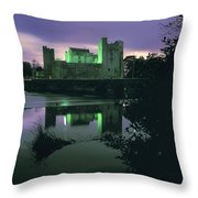 Ross Castle, Killarney, Co Kerry Throw Pillow