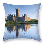 Rosserk Friary, Co Mayo, Ireland 15th Throw Pillow