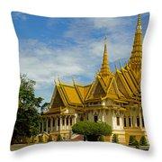 Royal Palace Throw Pillow