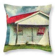 Royster Fertilizers  Throw Pillow