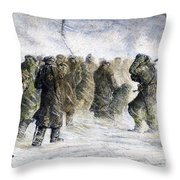 Russia: Siberia, 1882 Throw Pillow by Granger