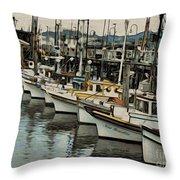 Safe Harbor 2 Throw Pillow