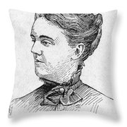 Sarah Orne Jewett Throw Pillow