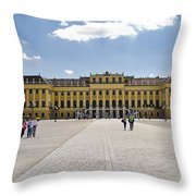 Schonbrunn Palace - Vienna Throw Pillow