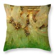 Sea Vase Community Throw Pillow