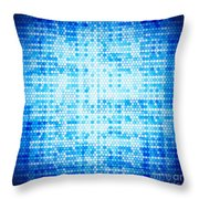 Seamless Honeycomb Pattern Throw Pillow